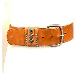 Vintage Leather waist belt